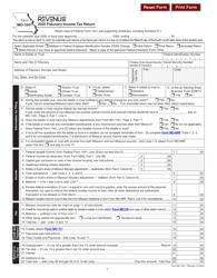 """Form MO-1041 """"Fiduciary Income Tax Return"""" - Missouri, 2020"""