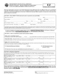 "Form DFS-J3-1956 ""Deferred Compensation Plan Ez Enrollment Form"" - Florida"