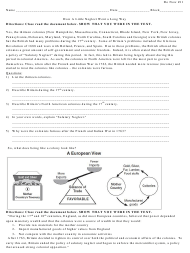 """""how a Little Neglect Went a Long Way"" History Worksheet - White Plains Public Schools"""