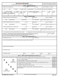 DA Form 2166-8 Nco Evaluation Report