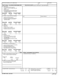 DA Form 2166-8 NCO Evaluation Report, Page 2