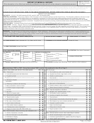 DD Form 2807-1 Report of Medical History