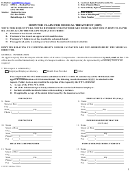 """Form LWC-WC1009 """"Disputed Claim for Medical Treatment"""" - Louisiana"""