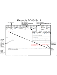 Sample DD Form 1348-1a Issue Release/Receipt Document