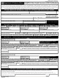 "VA Form 10-7959c ""CHAMPVA Other Health Insurance (OHI) Certification"""