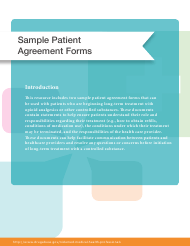 """Sample Patient Agreement Forms"""