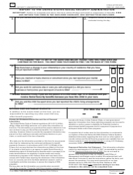 Form 7162 Report to the United States Social Security Administration