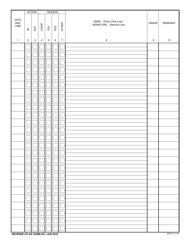 DA Form 647 Personnel Register, Page 2