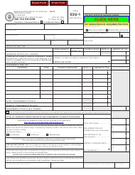 "Form 53u-1 ""Use Tax Return"" - Missouri"