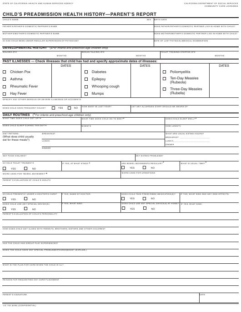 Form LIC 702 Fillable Pdf