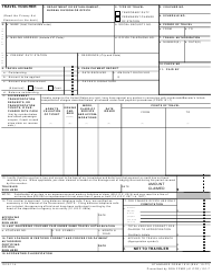 GSA Form SF-1012 Travel Voucher