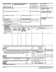 GSA STANDARD Form 1012 Travel Voucher