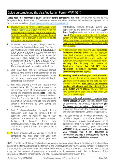 Form VAF14(34) Printable Pdf