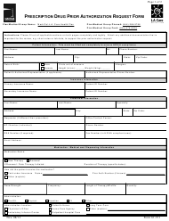 Form 61-211 Prescription Drug Prior Authorization Request Form - L.a. Care Health Plan