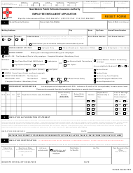 """Employee Enrollment Application Form - New Mexico Public Schools Insurance"" - New Mexico"
