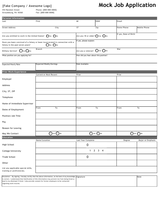 mock-job-application-template_big Online Employment Application Template Html on for flooring, free security, free generic,