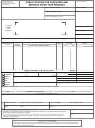 "Form SF-1034 ""Public Voucher for Purchases and Services Other Than Personal"""