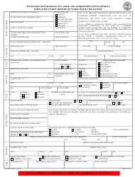 Form LB-0021 Tennessee Department of Labor and Workforce Development Employer's First Report of Work Injury or Illness - Tennessee