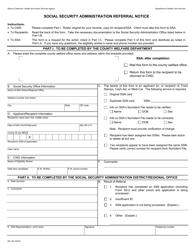 Form MC 194 Administration Referral Notice - California