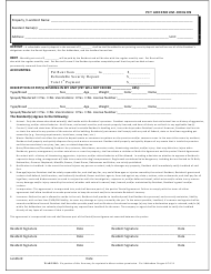 Pet Addendum Form - Oregon