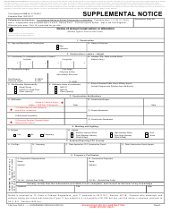 "FAA Form 7460-2 ""Supplemental Notice"""