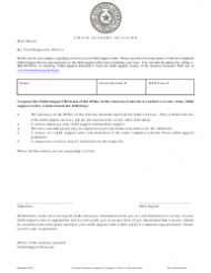 Form 3F002e Request for Review - Texas