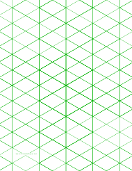 """Large Green Half-Square Triangle Paper"""