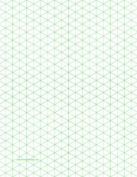 Green Half-Square Triangle Paper
