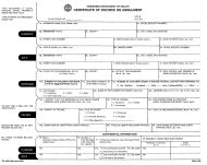 "Form PH-1682 ""Certificate of Divorce or Annulment"" - Tennessee"