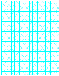 """Cyan Hypometric Grid Paper Template"""