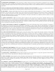 """""""Agreement Template to Rent or Lease"""" - California, Page 2"""