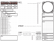 """Urban Jungle Character Sheet Template"""