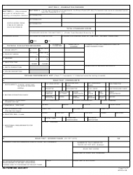 DA Form 348 Equipment Operator's Qualification Record (Except Aircraft), Page 2