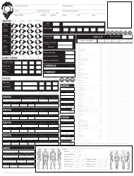 """Ghost in the Shell Character Sheet Template"""