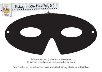 """""""Rodney's Robin Mask Template"""""""