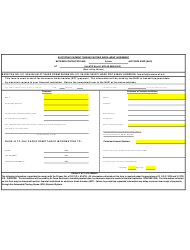 """""""Electronic Payment Trading Partner Enrollment Agreement Form"""""""