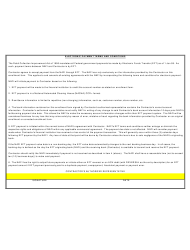 """""""Electronic Payment Trading Partner Enrollment Agreement Form"""", Page 2"""