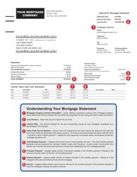 "Sample ""Quarterly Mortgage Statement"""