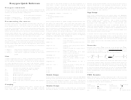 """Doxygen C++ Quick Reference Sheet"""