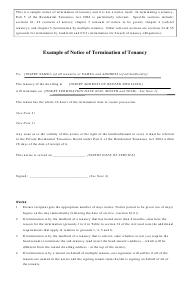 Landlord Notice Of Termination Of Lease Letter from data.templateroller.com