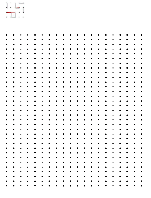 """""""Connect the Dots Game Template"""" Download Pdf"""