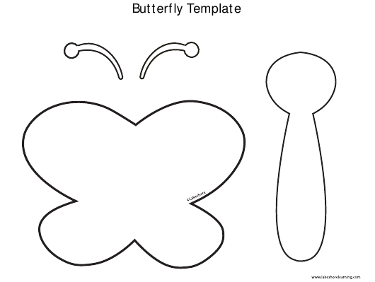 """""""Butterfly Template"""" Download Pdf"""