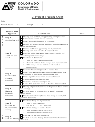 """Qi Project Tracking Sheet"" - Colorado"