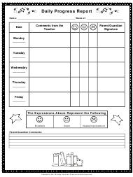 """Daily Progress Report Template"""