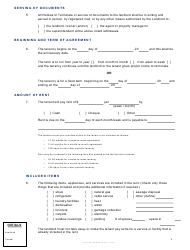 Residential Tenancy Agreement Template Download Printable PDF (Page ...