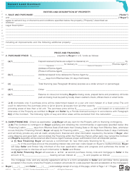 "Form VAC-9 ""Vacant Land Contract Form - Florida Association of Realtors"" - Florida"