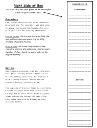 Cereal Box Book Report Template Download Printable Pdf Templateroller