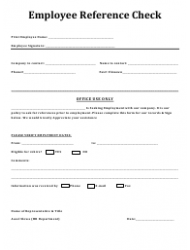 Employee Reference Check Form - Ritestep Rehab Solutions