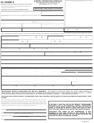 "CC- Form 2 ""Employer First Notice of Injury"" - Oklahoma"