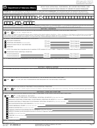 VA Form 21-0960g-8 Infectious Intestinal Disorders, Including Bacterial and Parasitic Infections Disability Benefits Questionnaire